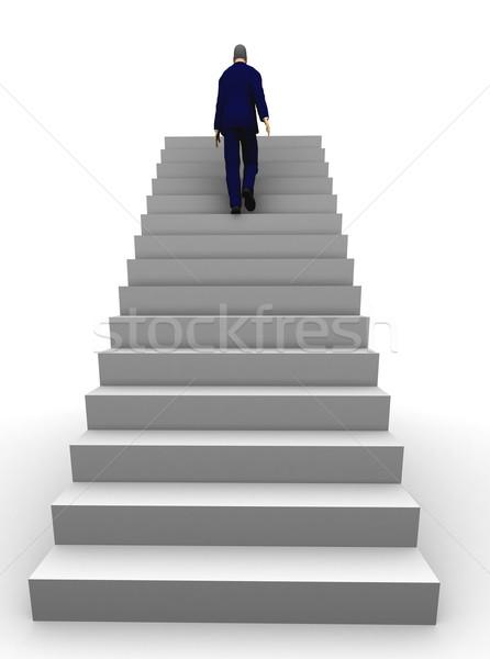 Business success man Stock photo © cienpies
