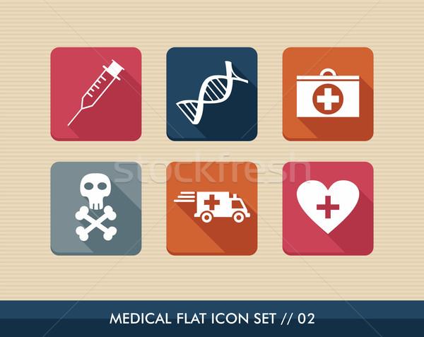 Stok fotoğraf: Tıbbi · sağlık · renkli · sağlık