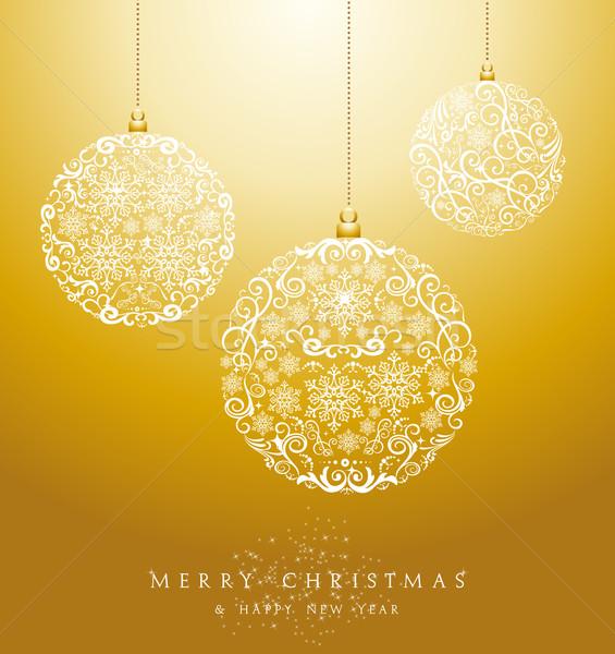 高級 陽気な クリスマス eps10 ベクトル ファイル ストックフォト © cienpies