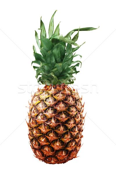 изолированный ананаса зрелый фрукты пусто Сток-фото © cienpies