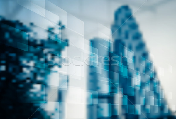 Abstract blur business office background Stock photo © cienpies