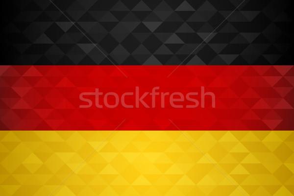 Allemagne pays pavillon nation spéciale événement Photo stock © cienpies