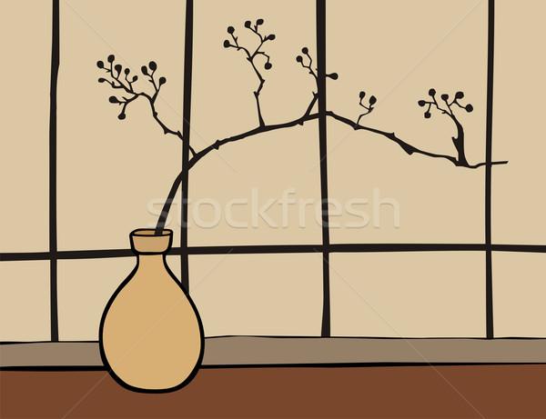 Oriental Zen decoration Stock photo © cienpies
