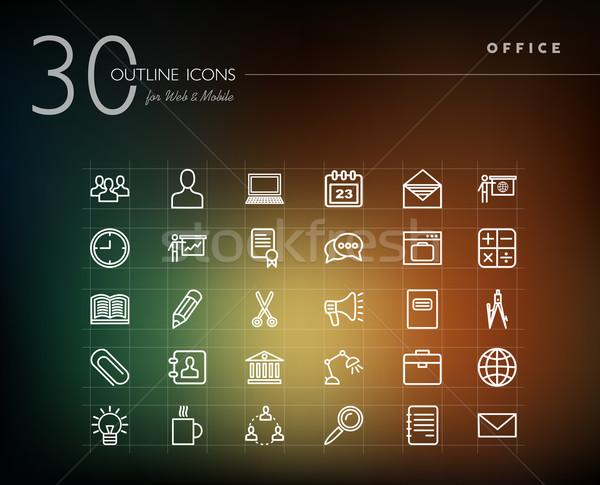 ストックフォト: オフィス · ビジネス · ウェブ · 携帯