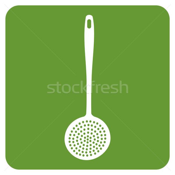 kitchen skimmer icon Stock photo © cienpies