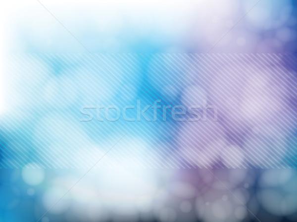 ライト ぼやけた 背景 抽象的な ぼけ味 スタイル ストックフォト © cifotart