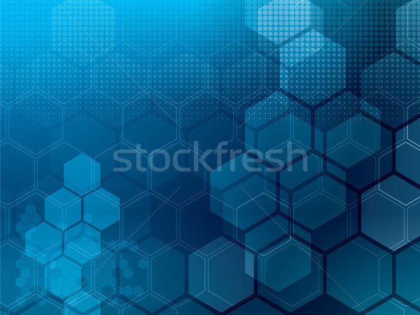 abstract background tech Stock photo © cifotart