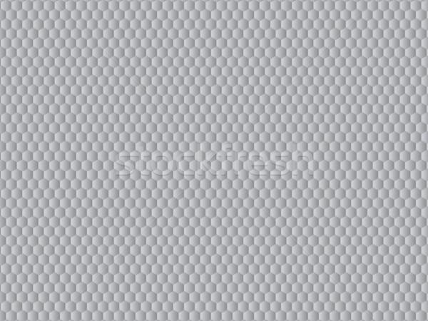 抽象的な パターン 六角形 ベクトル グレー 技術 ストックフォト © cifotart
