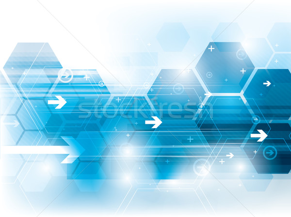 technology background Stock photo © cifotart