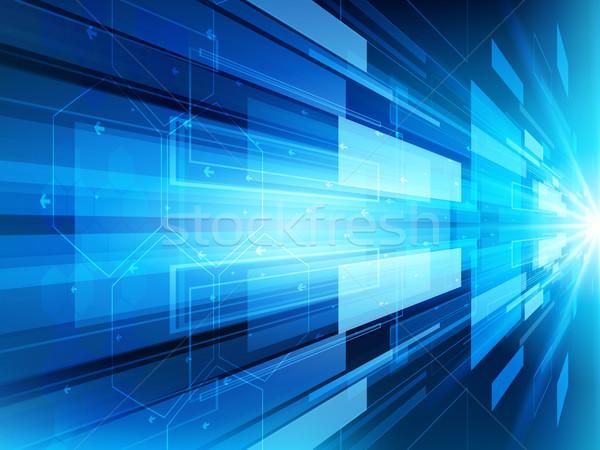 аннотация технологий вектора текстуры дизайна науки Сток-фото © cifotart