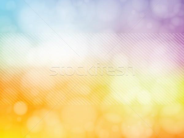 фары расплывчатый фон аннотация bokeh стиль Сток-фото © cifotart