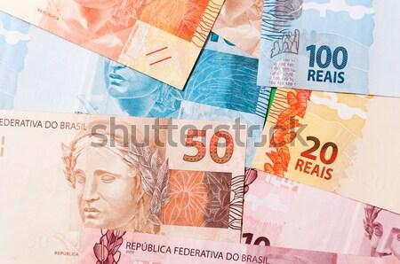 Strony ceny biały kobiet pieniężnych Zdjęcia stock © cifotart