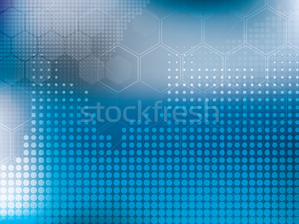 abstract background blue technology Stock photo © cifotart