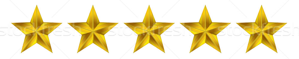 Csillag nulla öt üzlet háló siker Stock fotó © cifotart