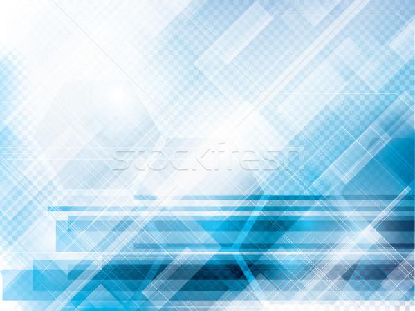Сток-фото: аннотация · технологий · синий · вектора · интернет · свет