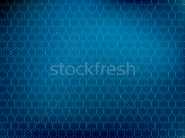 Abstract background with hexagons Stock photo © cifotart