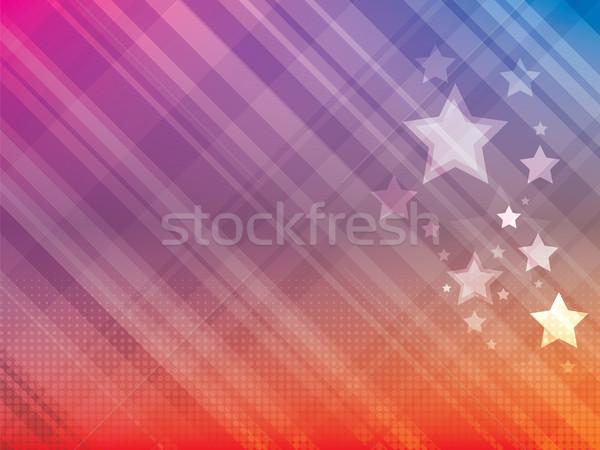 Resumen brillante estrellas estrellas rojo fondos Foto stock © cifotart