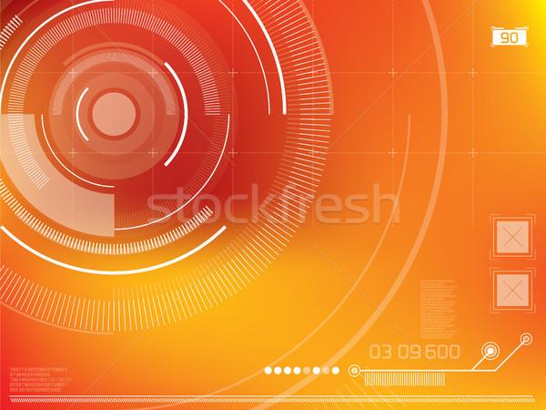 抽象的な ベクトル 要素 技術 光 デザイン ストックフォト © cifotart
