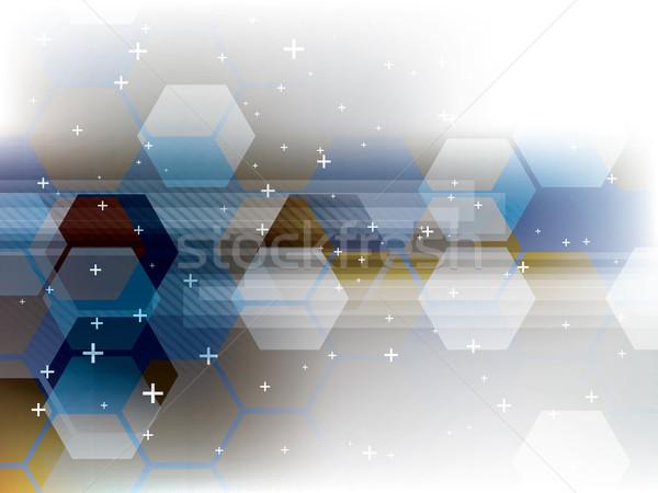 аннотация технологий вектора футуристический корпоративного бизнеса Сток-фото © cifotart