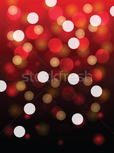 Czerwone światło wektora świetle projektu sztuki Zdjęcia stock © cifotart