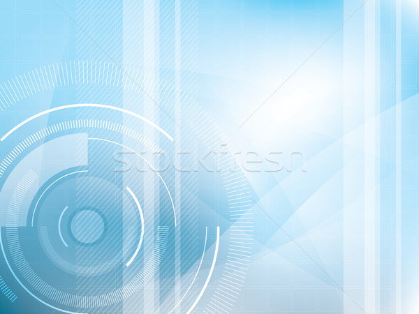 Technológia kék futurisztikus absztrakt digitális textúra Stock fotó © cifotart