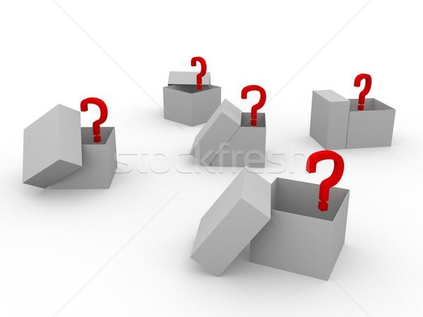 Boxes Stock photo © Ciklamen
