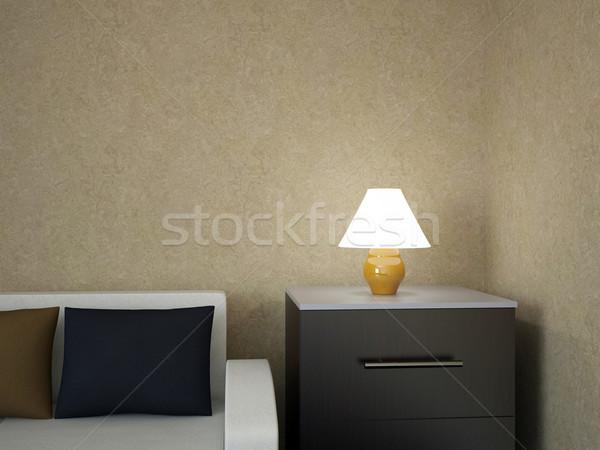 A small lamp Stock photo © Ciklamen