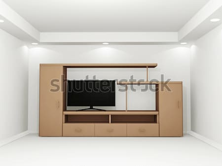 Interior model Stock photo © Ciklamen
