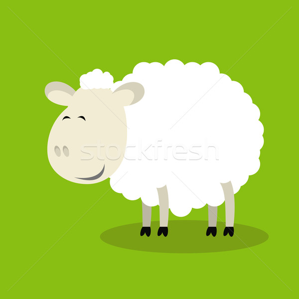 Funny sheep Stock photo © Ciklamen