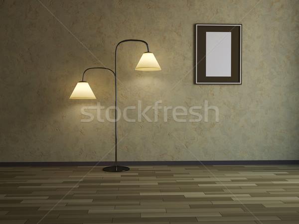 Floor lamp Stock photo © Ciklamen