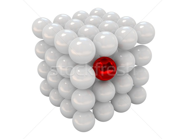 Especial red ball Stock photo © Ciklamen