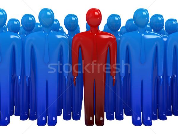 The leader of group Stock photo © Ciklamen