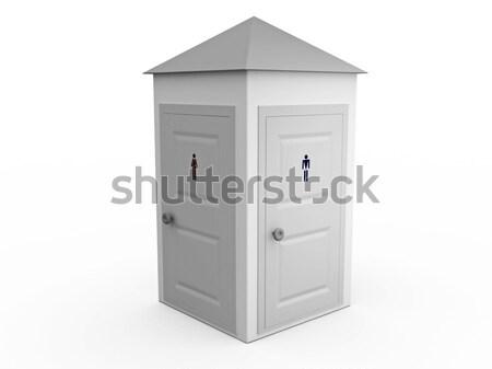 Original toilet Stock photo © Ciklamen