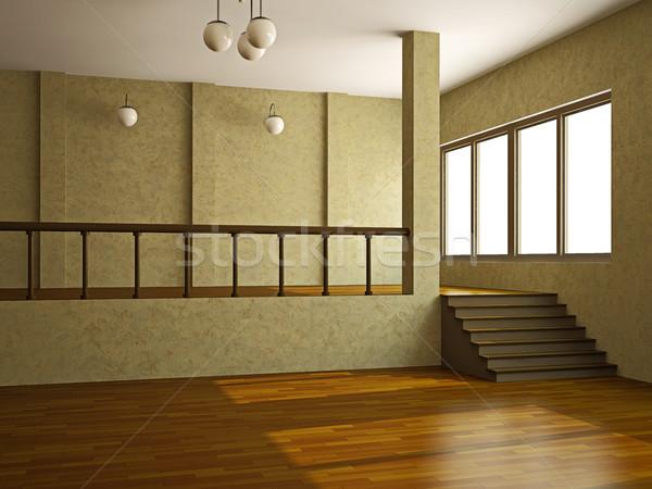A large room  Stock photo © Ciklamen