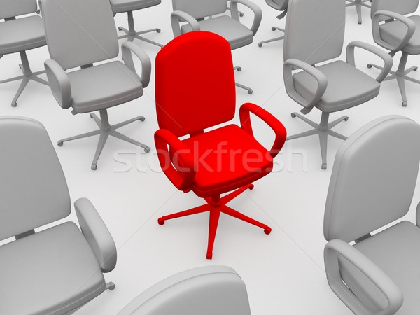 Red chair  Stock photo © Ciklamen
