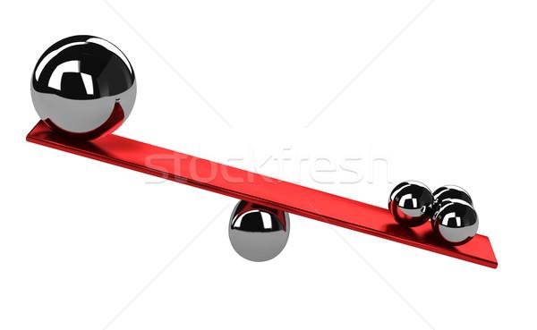 Imbalance Stock photo © Ciklamen