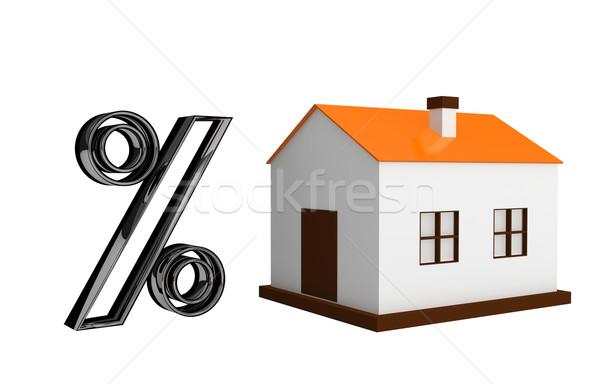 kredit geh use wenig haus gro prozent stock. Black Bedroom Furniture Sets. Home Design Ideas