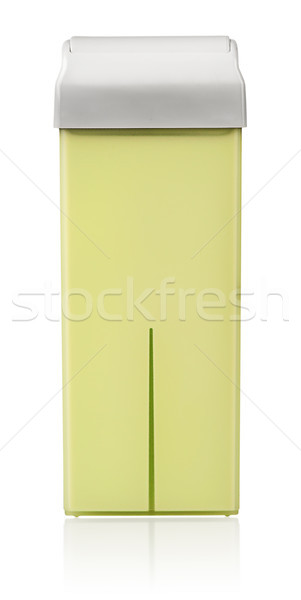 Stockfoto: Patroon · wax · geïsoleerd · witte · lichaam