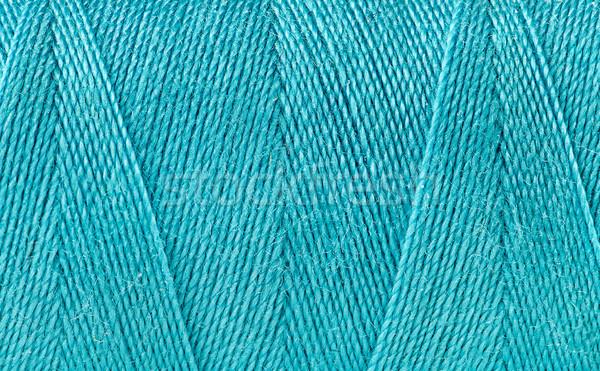 青 スレッド ボビン 抽象的な テクスチャ 影 ストックフォト © Cipariss