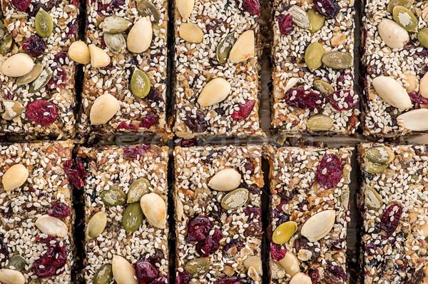 Granola cut into pieces Stock photo © Cipariss