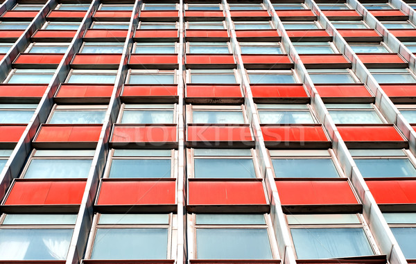 Multistory office building with terracotta panels Stock photo © Cipariss