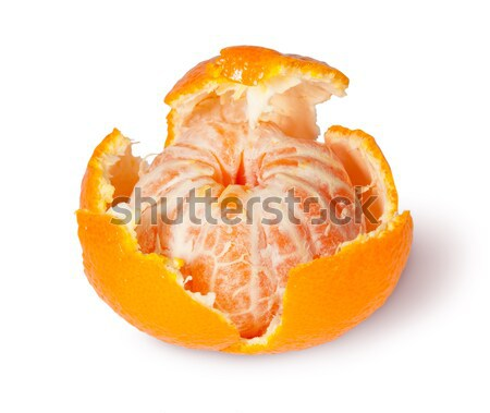 Partially Purified And Broken Tangerine Stock photo © Cipariss