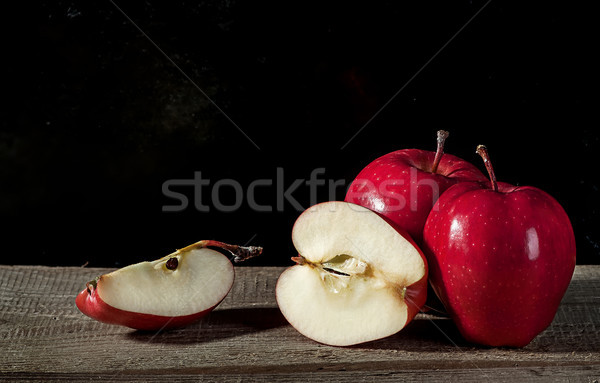 Bütün parçalar elma birkaç elma Stok fotoğraf © Cipariss