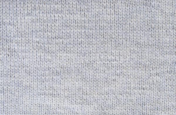 Pequeño patrón gris lana hilados Foto stock © Cipariss