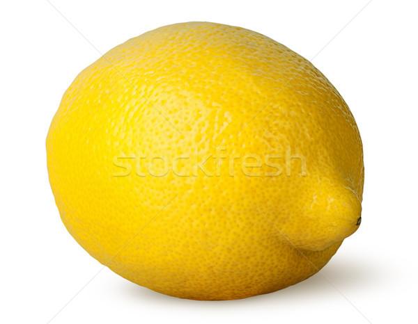 érett friss citrom izolált fehér természet Stock fotó © Cipariss