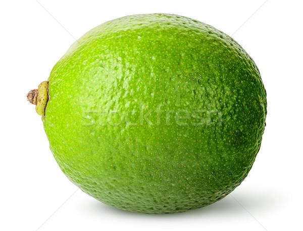 Egy egész érett citrus izolált fehér Stock fotó © Cipariss