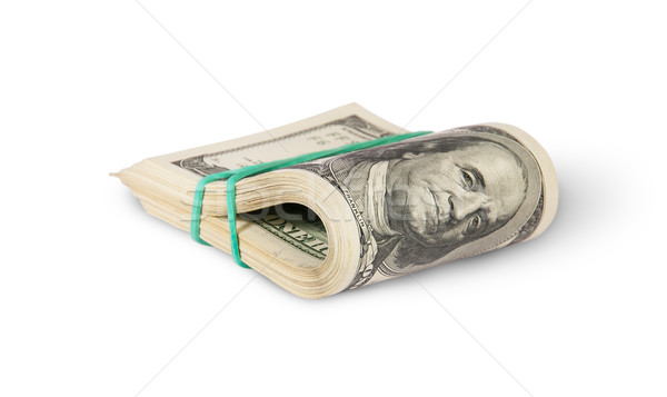 Bundle Of Money Rotated Stock photo © Cipariss