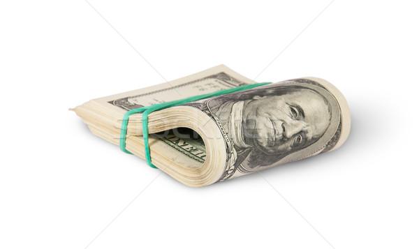 Bundle Of Money Rotated Stock photo © Cipariss