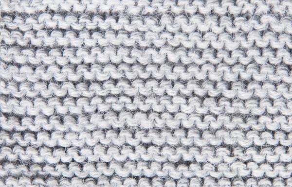編まれた グレー ハンドメイド 抽象的な ストックフォト © Cipariss
