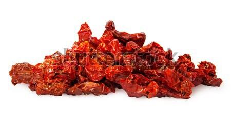 Olgun kırmızı kurutulmuş domates yalıtılmış Stok fotoğraf © Cipariss